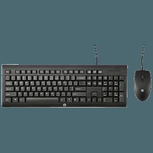 Teclado y Mouse HP C2500
