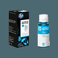 Botella de Tinta HP GT52 Cian Original