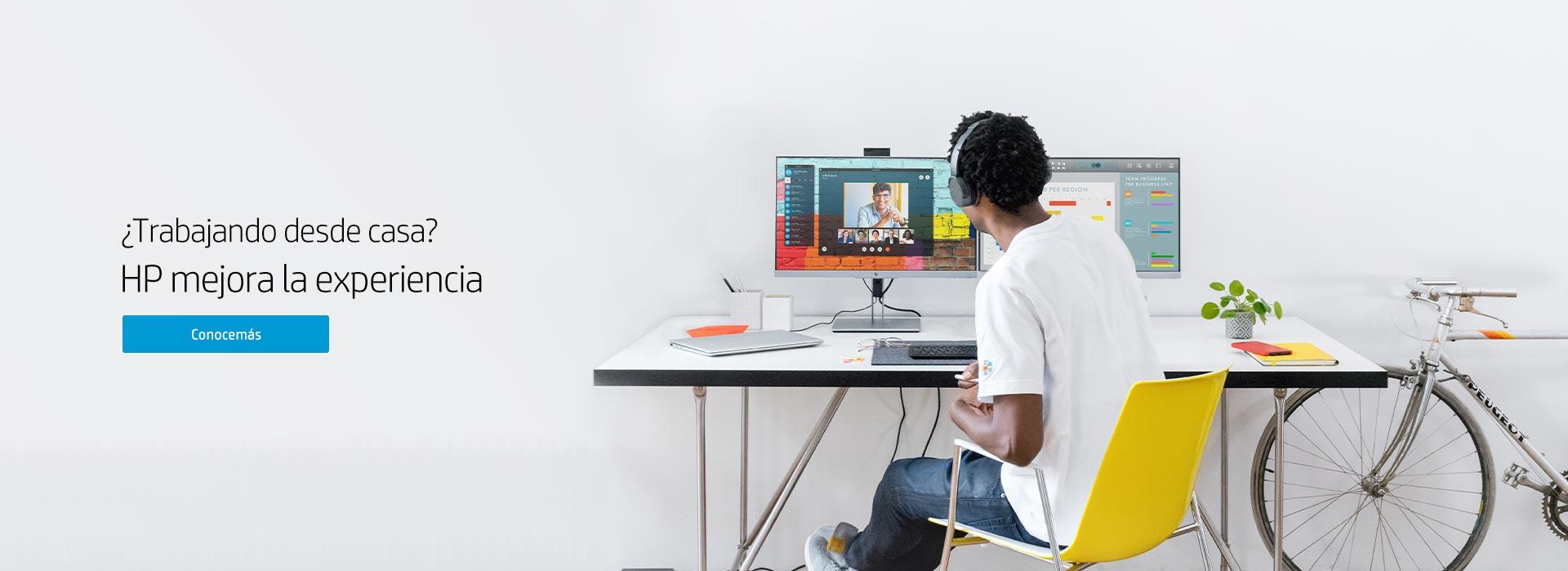 ¿Trabajando desde casa? | HP mejora la experiencia