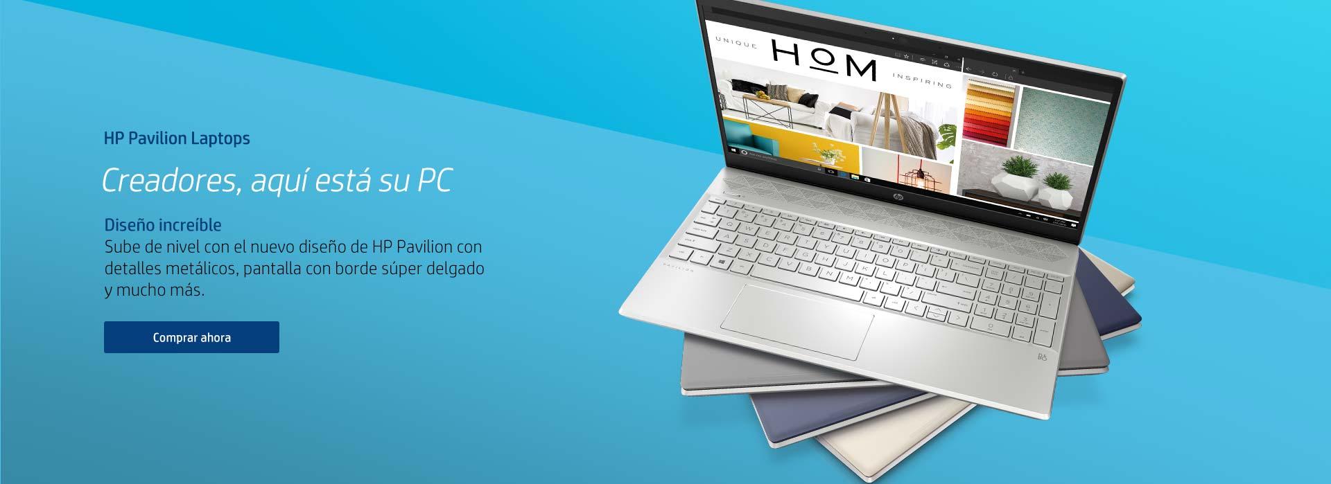 HP Pavilion Notebooks | Creadores, aquí está su PC