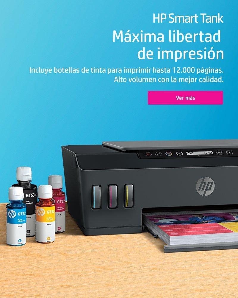 Máxima libertad de impresión con HP Smart Tank