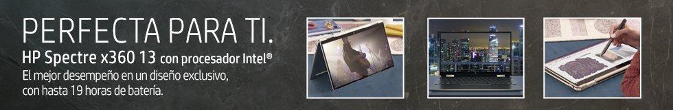 Laptops HP Spectre x360 13 con procesador Intel   El mejor desempeño en un diseño exclusivo, con hasta 19 horas de batería