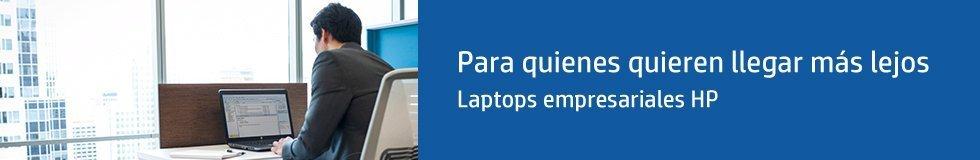 Laptops HP Empresariales | Para quienes quieren llegar más lejos