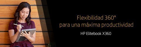 Laptops HP EliteBook x360 | Flexibilidad 360 para una máxima productividad