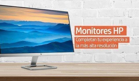 Monitores HP | Completan tu experiencia a la más alta resolución