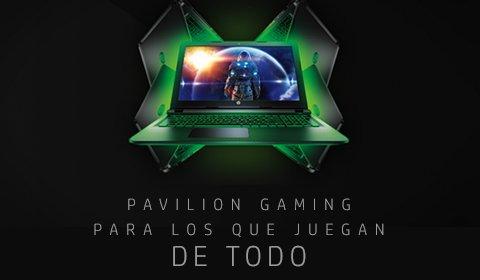 Pavilion Gaming | Para los que juegan de todo