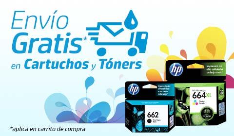 Envío gratis enCartuchos y Tóners originales HP